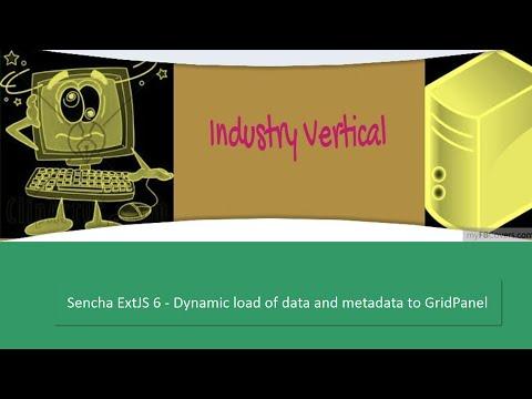Sencha ExtJS 6 - Dynamically  load Data and MetaData to Grid Panel