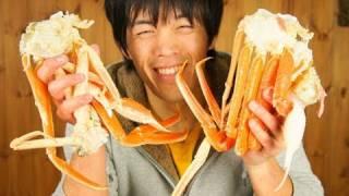 水カニ(ズボガニ)が安くてうまい!  Crabs are very tasty!!
