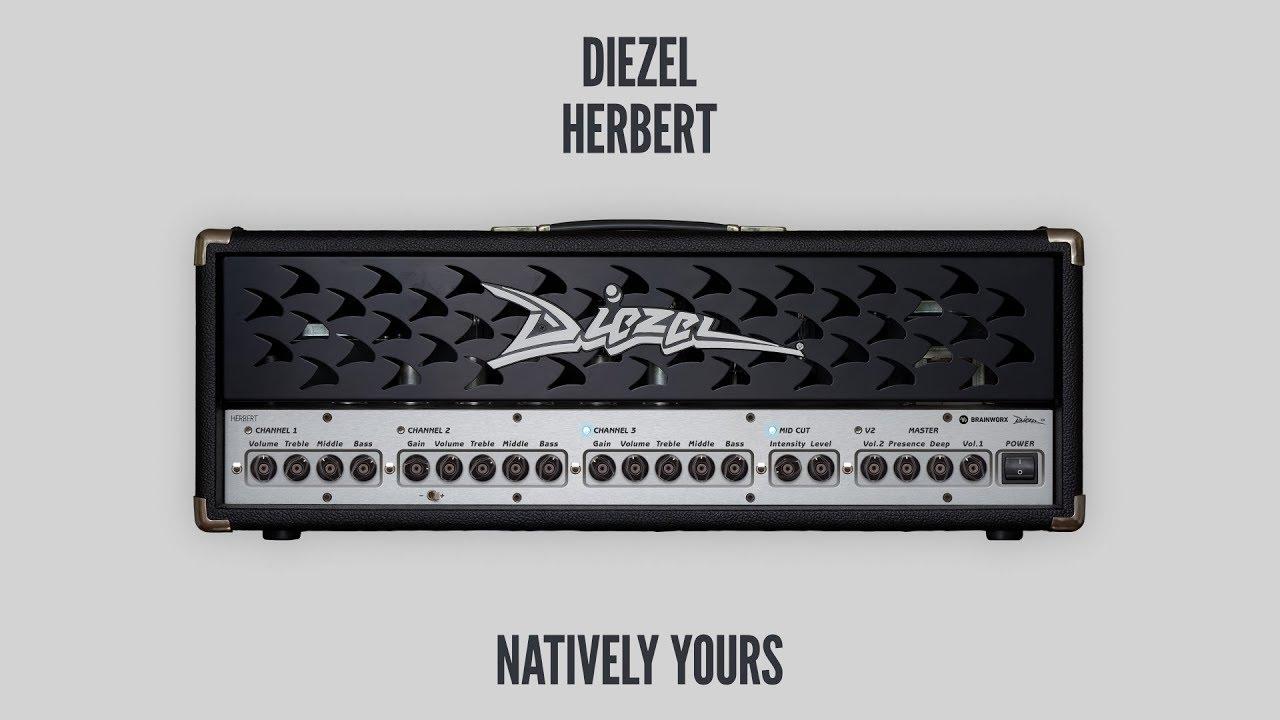 Brainworx's Diezel Herbert guitar amp plugin lands in native formats