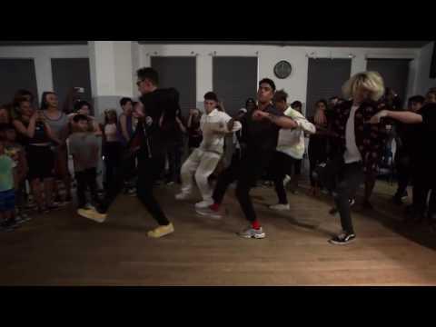 PRETTYMUCH-Dancing- WouldYouMind (Matt Steffanina Dance Class)