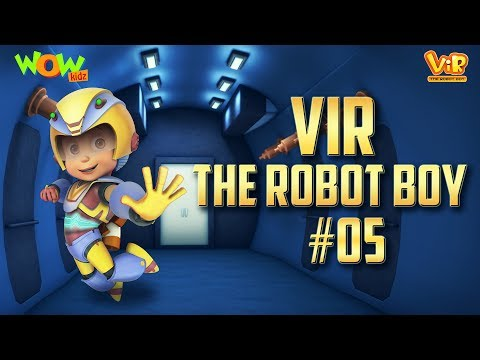 Vir: The Robot Boy #5 - 3D action compilation for kids - As seen on Hungama TV