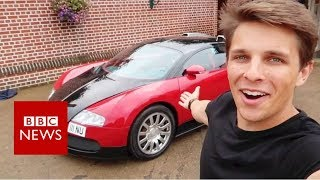 Can a Bugatti handle a drive-through? - BBC News