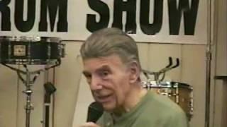 Louie Bellson plays his Custom Billy Gladstone Snare Drum
