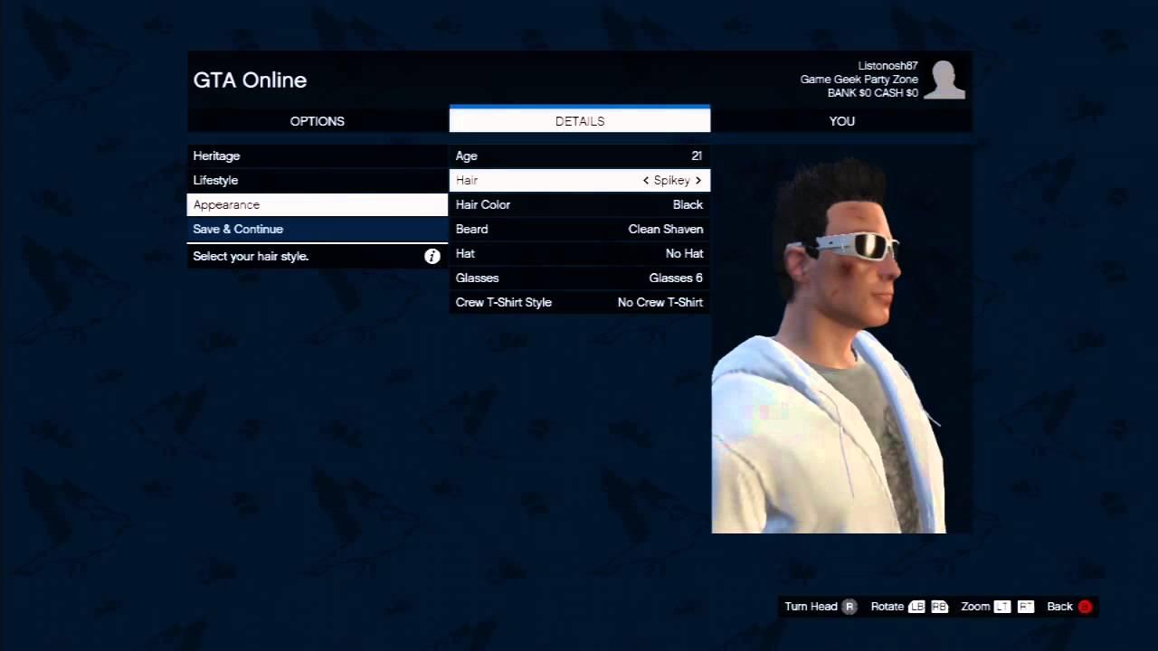 gta 5 online character creation slots