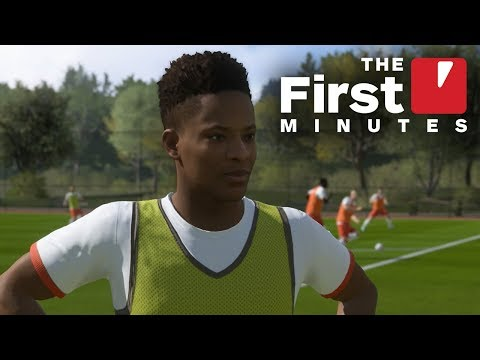 The First 22 Minutes of FIFA 18 - The Journey: Hunter Returns