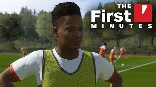 The First 22 Minutes of FIFA 18 The Journey