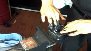 CV Joint Dismantle, Clean & Grease How to DIY: BMTroubleU