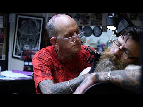 Owner of London's first custom tattoo shop,