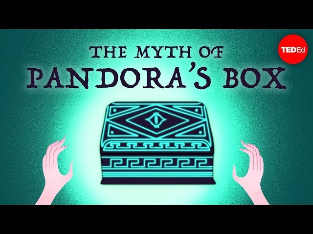 The myth of Pandora's box - Iseult Gillespie
