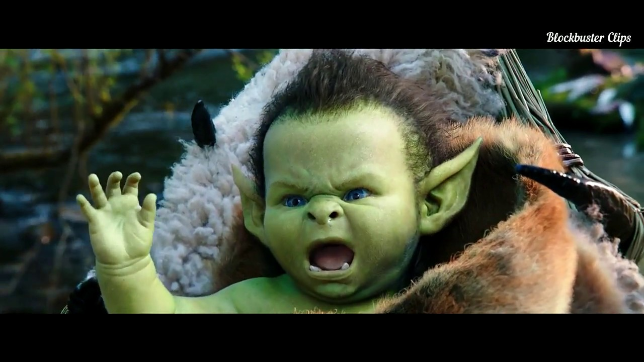 "Download Warcraft  -  ""  Baby Growls climax Ending Scene "" Hd"