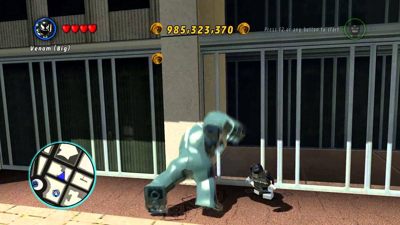 Lego Marvel Super Heroes Bullseye Can T Kill Venom Big 1080p