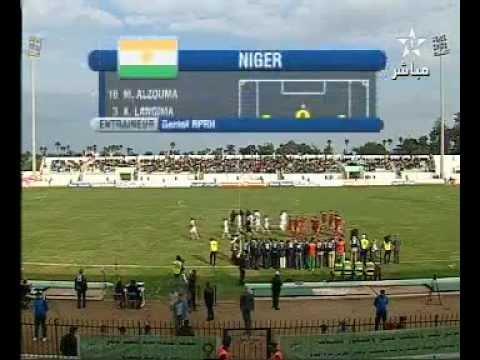 Match Maroc 3 - 0 Niger - part 1 [12-12-2012]
