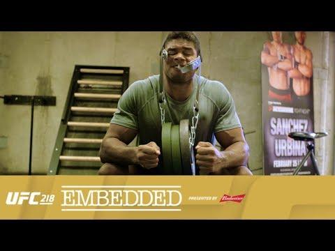 UFC 218 Embedded: Vlog Series - Episode 1