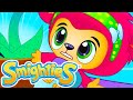 Smighties - Monster Plant Vs Mighty Superheroes Animation   Funny Cartoon Video   Cartoons for Kids