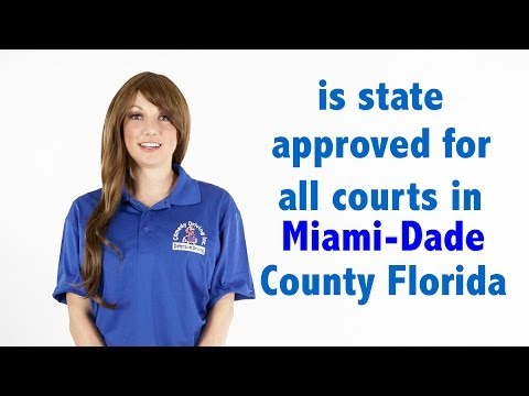 Miami-Dade County Florida Traffic School | Comedy Driving Traffic School