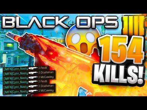 WORLD RECORD 154 KILLS ON NUKETOWN in Black Ops 4 (Worlds Most Kills on Nuketown)