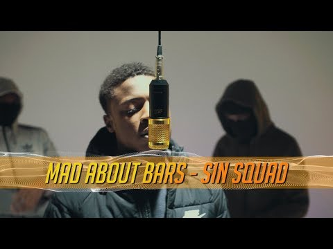 #SinSquad (GP x Uncs x KayyKayy) - Mad About Bars w/ Kenny Allstar [S3.E19] | @MixtapeMadness