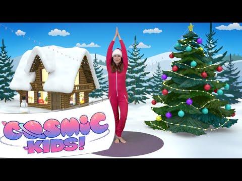 kids yoga christmas special a cosmic kids yoga adventure
