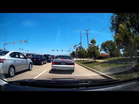Chicagoland Driving- Schaumburg - GT680W Dashcam