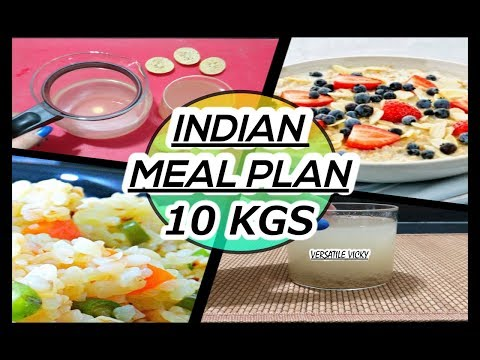 How to Lose Weight Fast 10Kg in 10 Days | Indian Meal Plan | Veg Diet Plan For Weight Loss India
