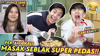 Download lagu COBA MASAK SEBLAK PEDAS BARENG YUSUKE! (FT. JESSICA JANE)