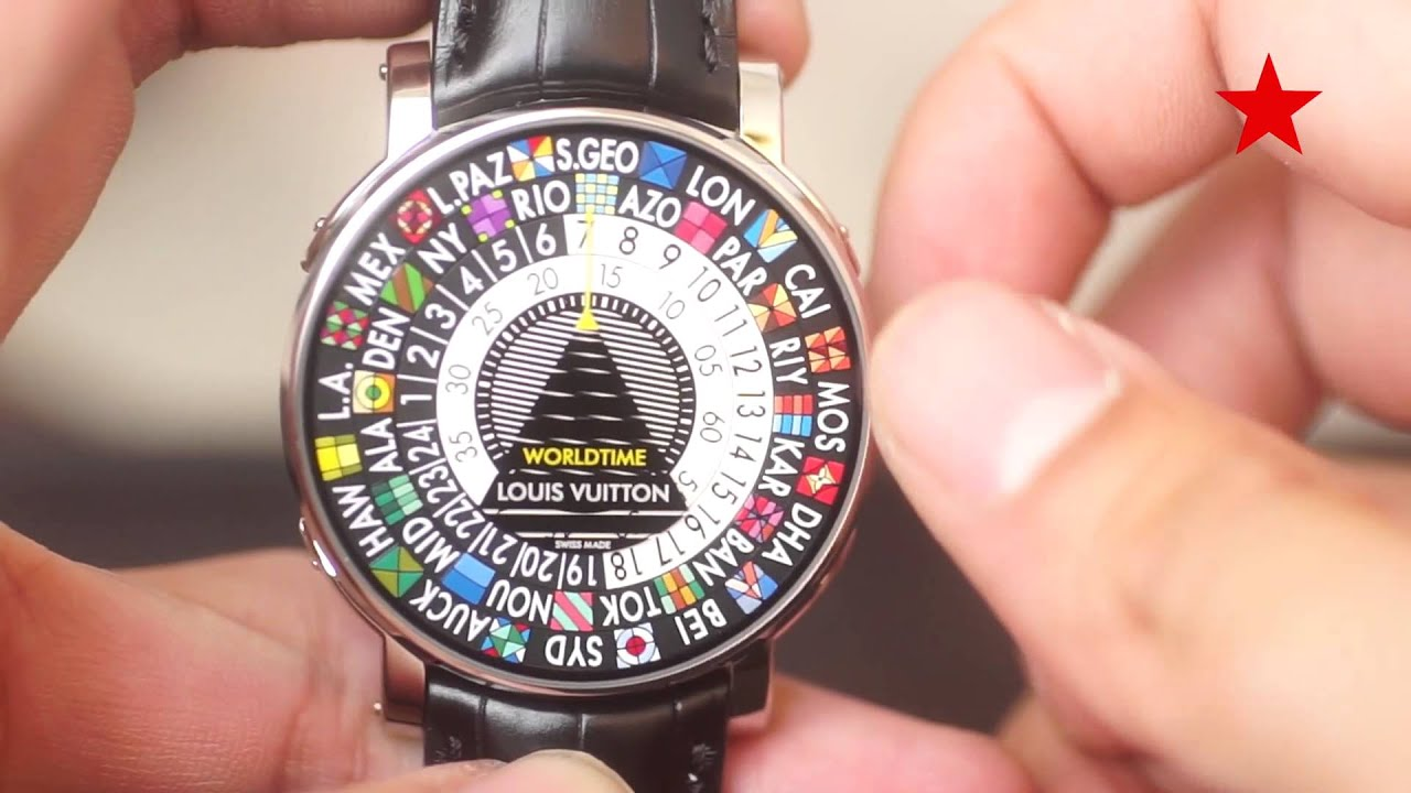 world vuitton time zone best patrol guide lyon buying watches escale lv louis worldtime gear