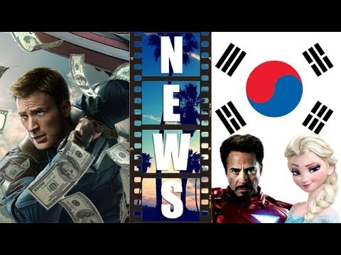 Captain America 2 Box Office, Avengers 2 and Frozen love South Korea - Beyond The Trailer