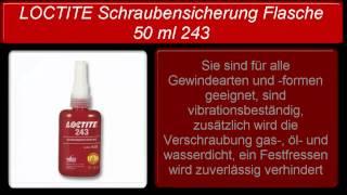Loctite 243 50ml | Preis Und Sicherheitsdatenblatt