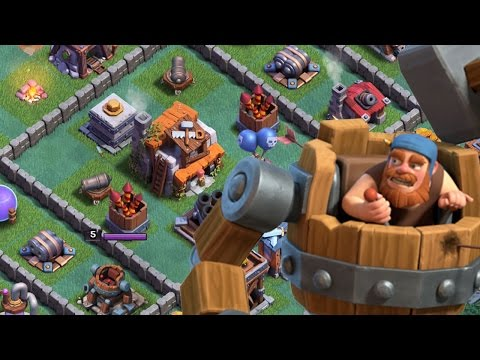 "THE BEST BUILDER BASE IN CLASH OF CLANS | Let's Play #1 ""NIGHT"""
