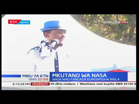 Kalonzo Musyoka's speech during NASA rally in Machakos