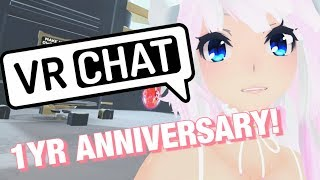[VRCHAT] I'M 1 YEAR OLD! WOW! (Vlog) *sub2pewds*
