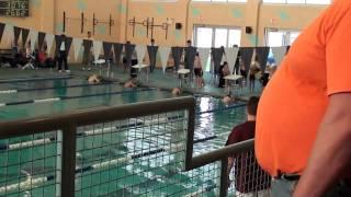 11/07/2010 2nd Place 25 Backstroke 20.61 - Noah Mini Swim Meet