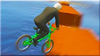 GTA 5 Funny Moments - HOW TO CHEAT ONLINE - (GTA V Online Stunts & Race)