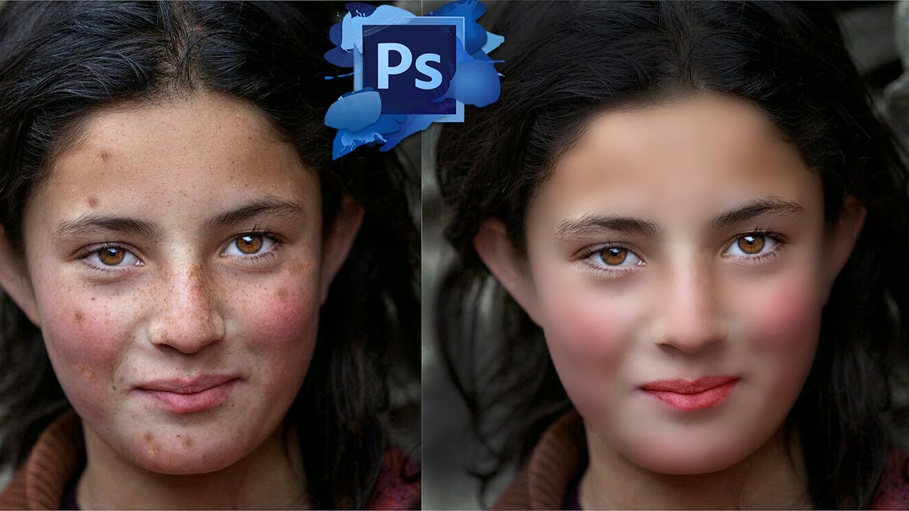 Photoshop tutorial how to quickly smooth skin and remove photoshop tutorial how to quickly smooth skin and remove blemishes scars baditri Choice Image