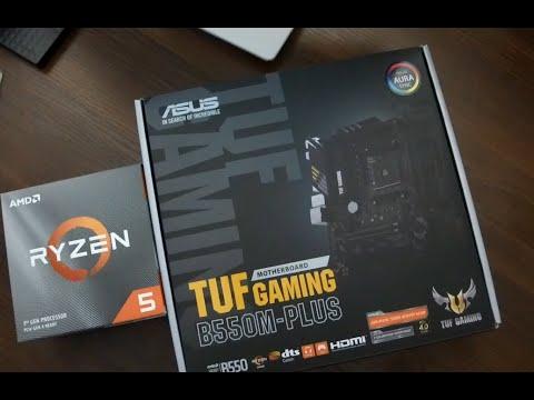 Материнська плата Asus TUF Gaming B550M-Plus (sAM4, AMD B550, PCI-Ex16)