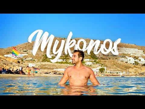 5 Days in Mykonos Greece - Mykonos Beaches | Mykonos Travel Vlog