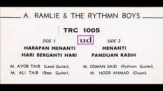 A. Ramlie & The Rythmn Boys - Panduan Kasih - (The Rythmn Boys/M. Razali) - 1966