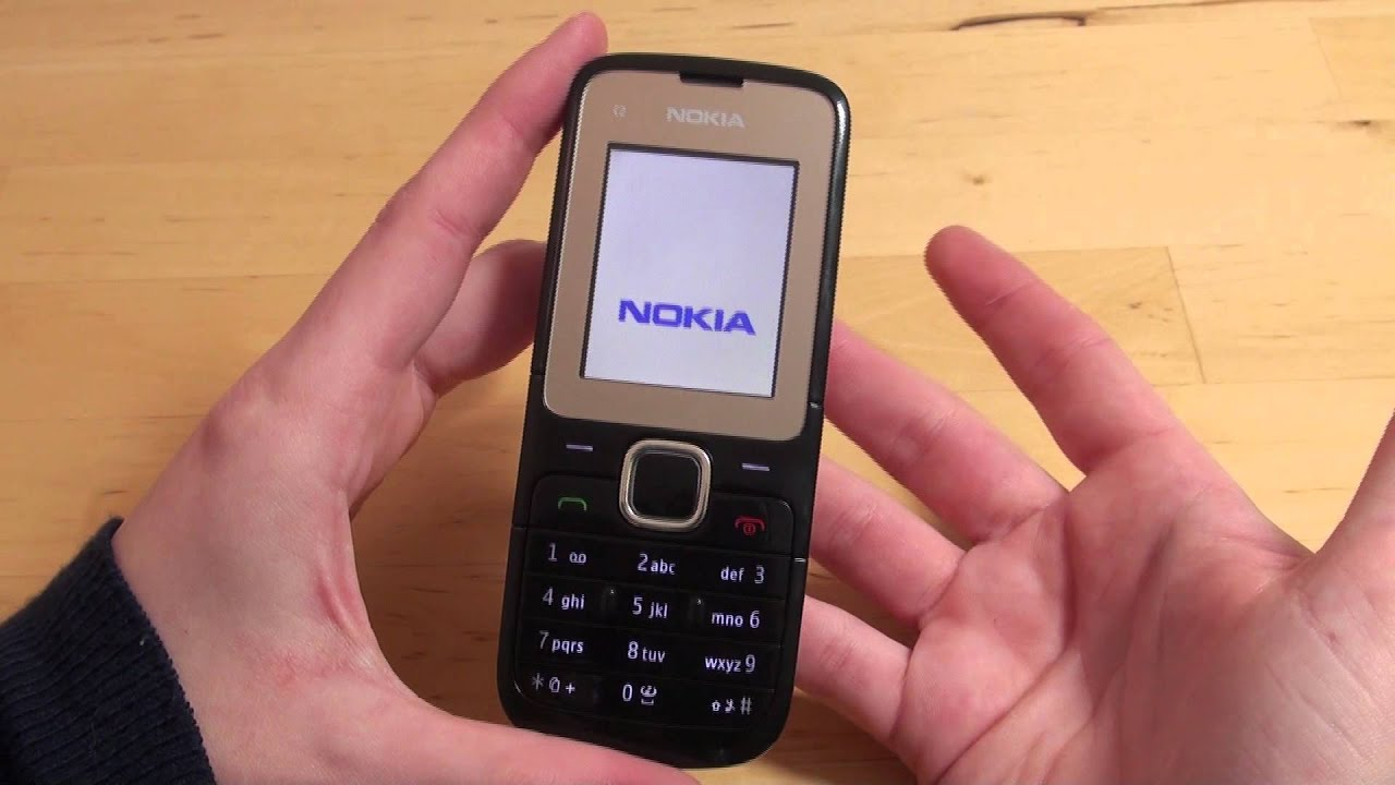 nokia c2 00 handy text review deutsch youtube. Black Bedroom Furniture Sets. Home Design Ideas