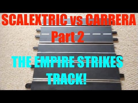 Scalextric vs Carrera Part 2: TRACK comparison