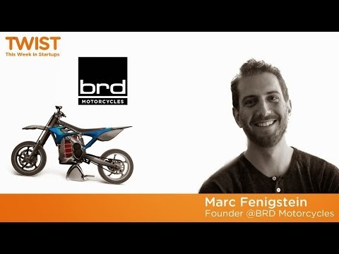 BRD's slick electric motorcycles