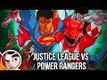 "Justice League Vs The Power Rangers ""The Meeting"" - InComplete Story"