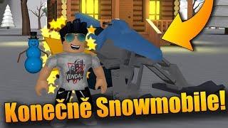 KONEČNĚ MÁM SNOWMOBILE!😍🔥 | ROBLOX: Snow Shoveling Simulator