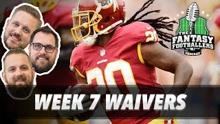 Fantasy football 2017 - week 7 waivers & qb streamers, jason's troubles - ep. #459