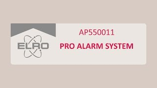 Het ELRO Pro Alarmsysteem installeren (AP5500)