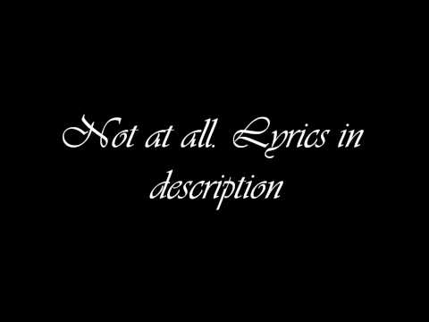 Get Scared: Not at all (lyrics)