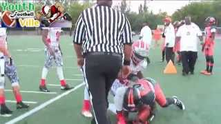 Pop Warner Semi-Regionals 2013 - Midgets Overtown vs Fort Myer Firecats pt1