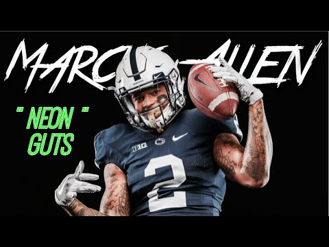 "Marcus Allen 2017-18 Mid-Season Highlight Mix || Penn State Safety #2 || ""Neon Guts"" ᴴᴰ"