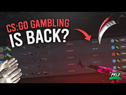 Csgo Gambling Is Back....!? INSANE COINFLIP WINS $$$