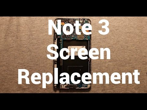 Samsung Galaxy Note 3 Screen Replacement Repair How To Change