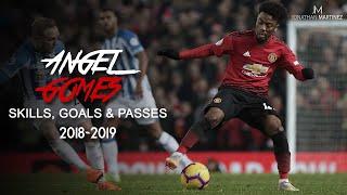 Angel Gomes ● Skills, Goals & Passes 2018/2019